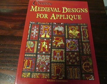 Creative Medieval Designs for Applique Sewing Pattern Leaflet Eileen Campbell