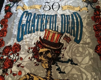 50th Anniversary edition Grateful Dead inspired Shower Curtain