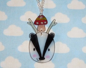 Brill Badgerlope Necklace