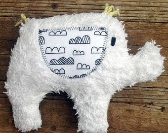 Cleo Plush Upcycled Elephant