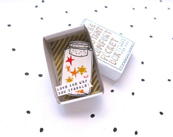 The Instant Comfort Pocket Box - stars in a jar