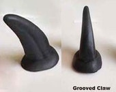 Fursuit Claws Grooved Resin,  cosplay creature, monster, animal, small - By: Raptor Arts Studio