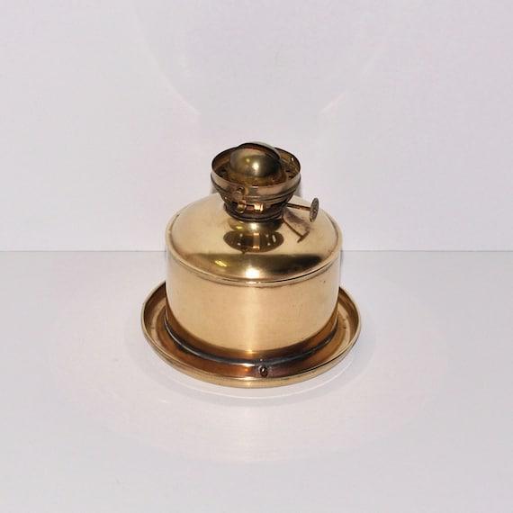 Antique Perko Navigation Lights Vintage Authentic Naval: Antique Perko Nautical Ship Brass Oil Lamp