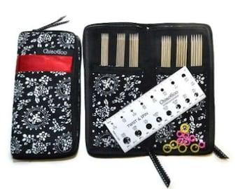 ChiaoGoo DPN Stainless Steel Sock Needle Set - 6 sets of dpns x 15cm 2 - 3.25mm