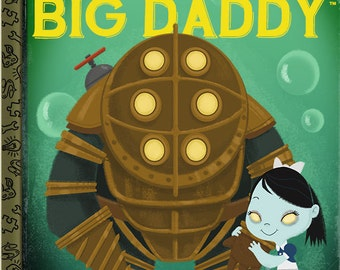 Me and My Big Daddy - 8x10 PRINT