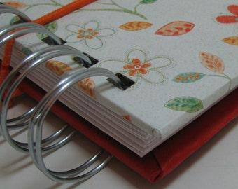 Mini Envelope Wallet/ Cash Envelope Wallet/ Envelope System Wallet/ Envelope System/ Budget Wallet / Cash System/ FPU/Tabs/ Orange Floral