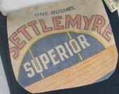 Settlemyre Seed Sack Messenger Handbag