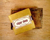 Cigar Shop Cold Process Soap, Men's Soap, Handmade Soap, Bar Soap, Palm Oil Free, Phthalate Free, Bergamont, Tobacco, Cognac, Father's Day