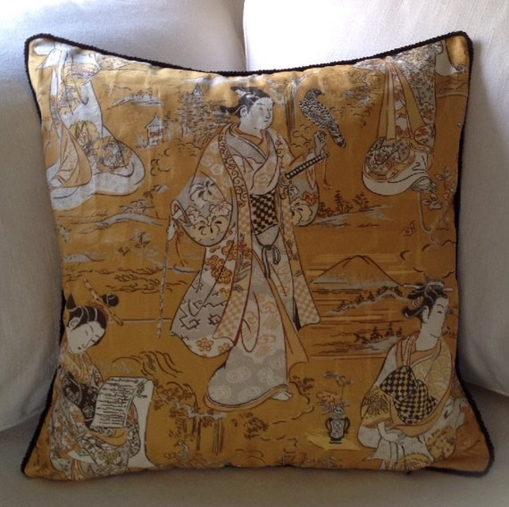 asian pillow cover living room home decor 20 inch square