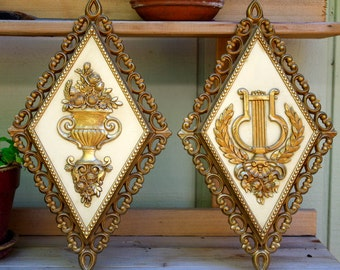 Homco Wall Plaques