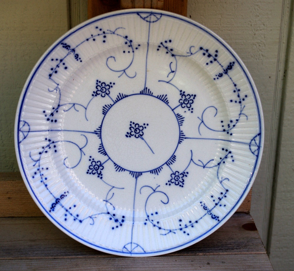 Villeroy and boch dresden plate made in germany for Villeroy and boch plates