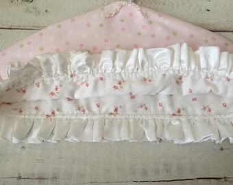SALE***SALE***SALE*** Shabby Chic - Pink - Ruffle - Pretty Clothes Cover - Pink Shabby Chic - Cotton Print