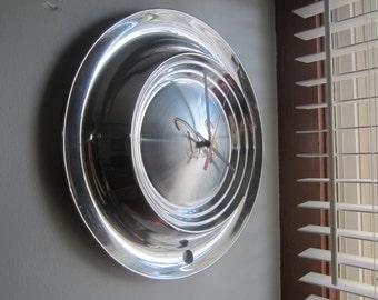1955 Desoto Hubcap Clock no.2278