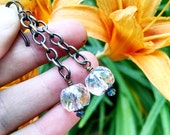 Sparkly Microfaceted Crystal Drops