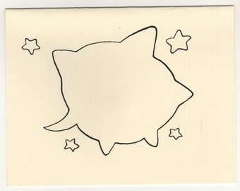 star talk card and envelope