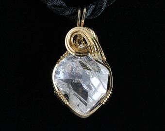 Herkimer Diamond Pendant. Listing 235921271