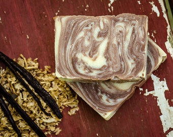 Soap, Goat Milk Soap, SANDALWOOD VANILLA, Sandalwood Soap, Vanilla Soap, Sandalwood Vanilla Soap, Cold Process Soap, Vanilla Sandalwood.
