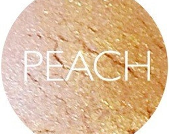 Peach Mineral Eyeshadow • Mineral Makeup • Vegan And Gluten Free Natural Eye Shadow • Earth Mineral Cosmetics