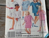 McCalls Girls Top, skirt, pants and Shorts Pattern 3201 size 10-14 Uncut