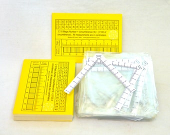 50 V-rulers for Japanese Temari - Set of 50 - very handy tool for measuring and marking