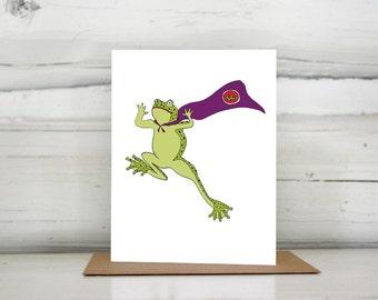 Super frog card