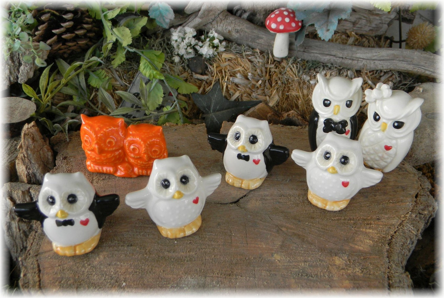 ceramic owl wedding cake toppers owl and groom ceramic wedding cake topper bird 12489