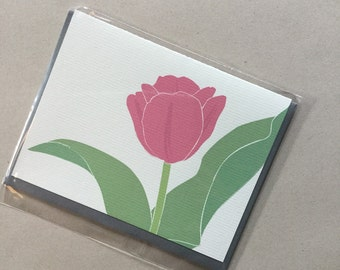 Tulip Single Card