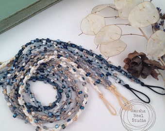 As Seen in Stringing Magazine Fall 2015 Beaded Silk Wrap Cord Kit Makes Five Braided Cords Add Your Own Button Closure