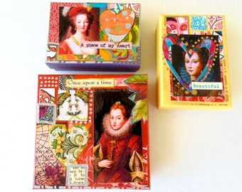 Gift Boxes, Holiday gift boxes, Decorative Gift Boxes, Royal portraits gift boxes