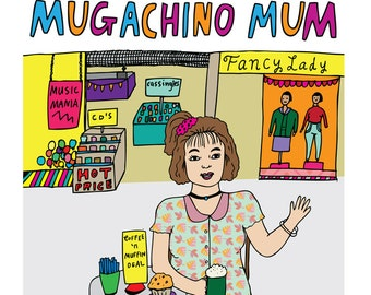 Mothers Day Card - Mugachino Mum