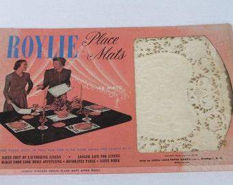 Roylie Paper Doilie Placemats Paper Lace Doily Rectangular