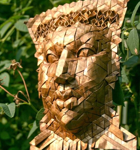Helios - origami mask