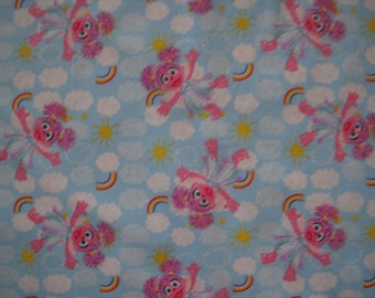 Abby Cadabby Cotton Fabric