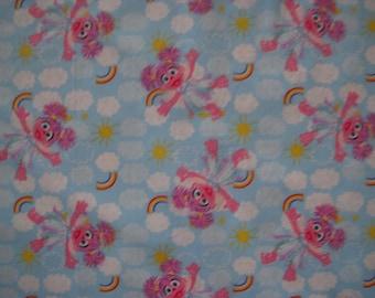 Abby Cadabby Cotton Fabric