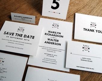 wedding invitation kit. hidden heart white wedding invitation kit, Wedding invitations