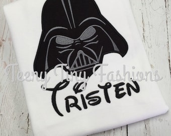 Disney shirt ~ Darth Vader shirt ~ Mickey shirt ~ First Disney shirt ~ Disney vacation shirt ~ Star Tours shirt