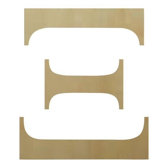 Buy Wooden Greek Letters Wooden Greek Letter Xi Paintable