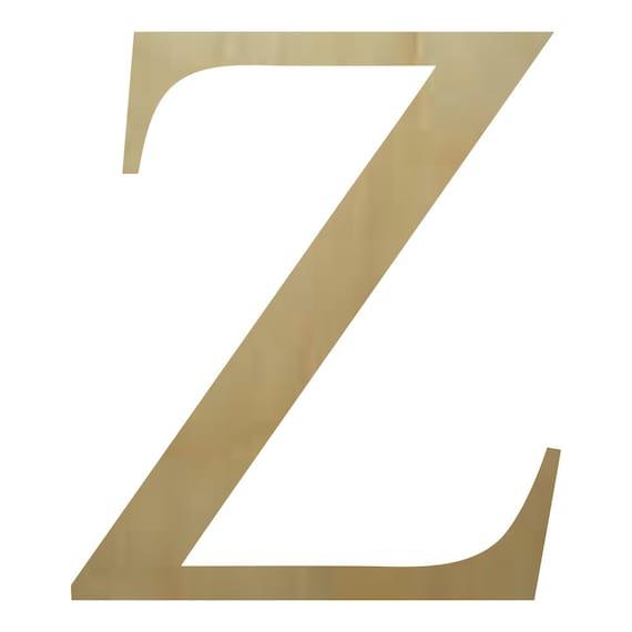 Buy Wooden Greek Letters Wooden Greek Letter Zeta Paintable