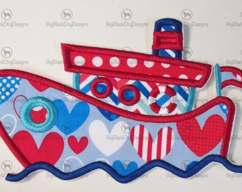 Iron On Applique - Tug Boat