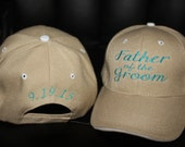 Custom Baseball Hat- Father of the Groom