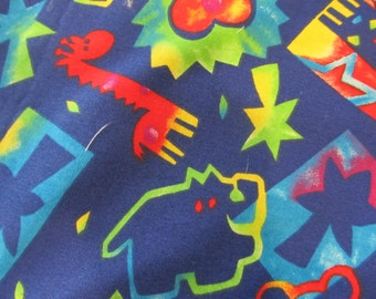 Cotton Fabric Childrens  Shipping Costs Included