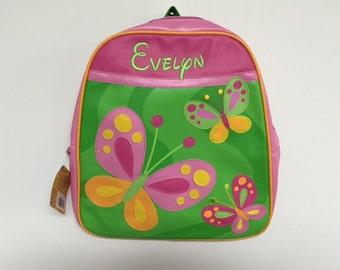Vinyl Stephen Joseph Go Go Butterfly Backpack Diaperbag