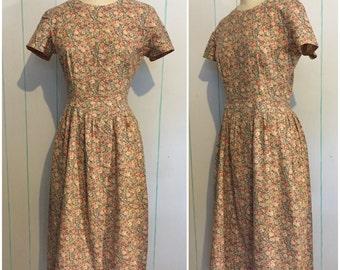 Floral Handmade Dress