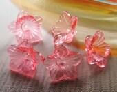 12 pcs - 18mm - Bell flower beads (FL040-C)