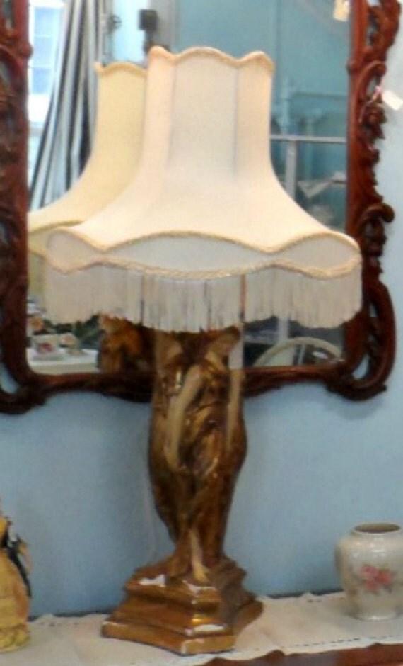 vintage 3 graces lamp italian florentine look impressive so. Black Bedroom Furniture Sets. Home Design Ideas