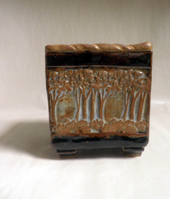 Ceramic Box  / Forest for the Trees