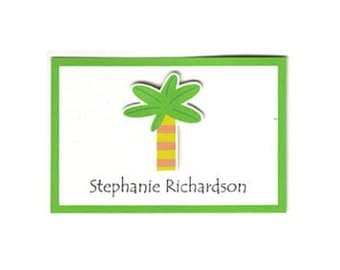 Palm Tree Calling Card