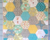 Honey Bunny Baby Quilt Finished Sample Sale