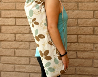 Yoga Mat Bag, Yoga Mat Tote, Yoga Bag, Yoga Tote, Yoga Sling, Yoga Sac, Yoga Sack, Handmade, Yoga Carrier, COOL BEANS