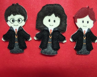 Wizard and Friends Finger Puppets